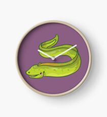 Moray Eel Clock