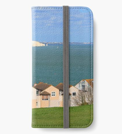 Swanage Bay & Clock Tower iPhone Wallet