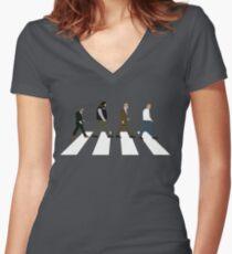 Bottom (The Hammersmith Hardmen) Women's Fitted V-Neck T-Shirt