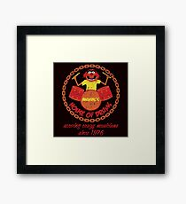 House of Drums (distressed) Framed Print
