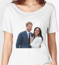 Congratulations Meghan and Harry Women's Relaxed Fit T-Shirt