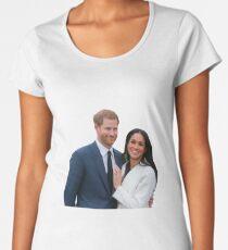 Congratulations Meghan and Harry Premium Scoop T-Shirt