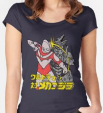 Ready - Fight Women's Fitted Scoop T-Shirt
