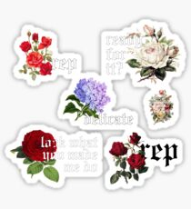 mini rep stickers Sticker