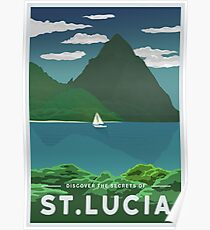 St. Lucia Poster