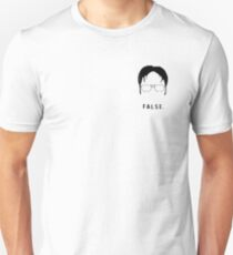 The Office Dwight's Face Unisex T-Shirt