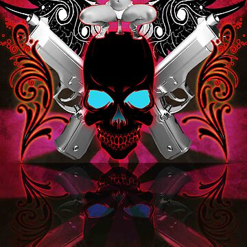 Skulls Guns & Strippers by jpdesigns