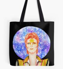 Star Man David Bowie Tote Bag