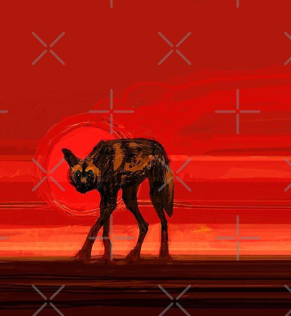 Wild Dog Sun by David  Kennett