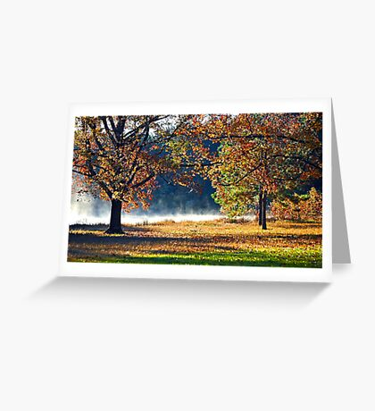 Falling Greeting Card