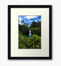 Another Maui waterfall Framed Print