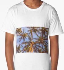 Palm Tree Skies Long T-Shirt