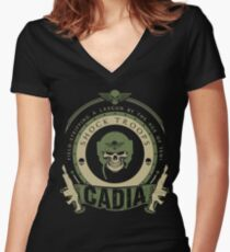 CADIA - LIMITED EDITION Fitted V-Neck T-Shirt