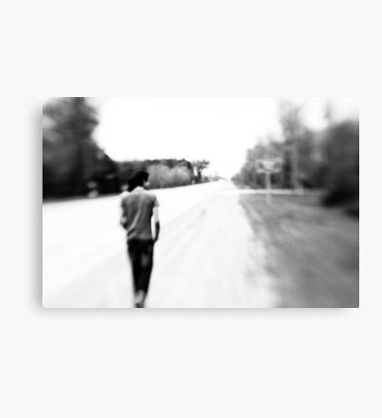 The road ahead Canvas Print