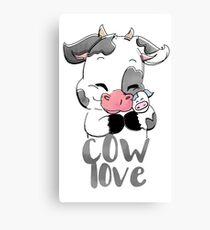 Cow Love Canvas Print