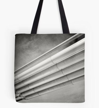 steel and sky Tote Bag