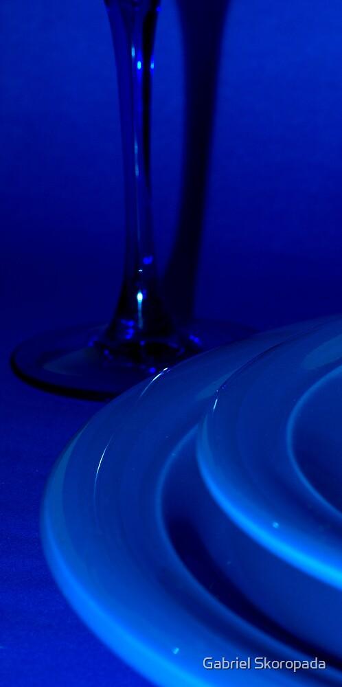 In blue... by Gabriel Skoropada