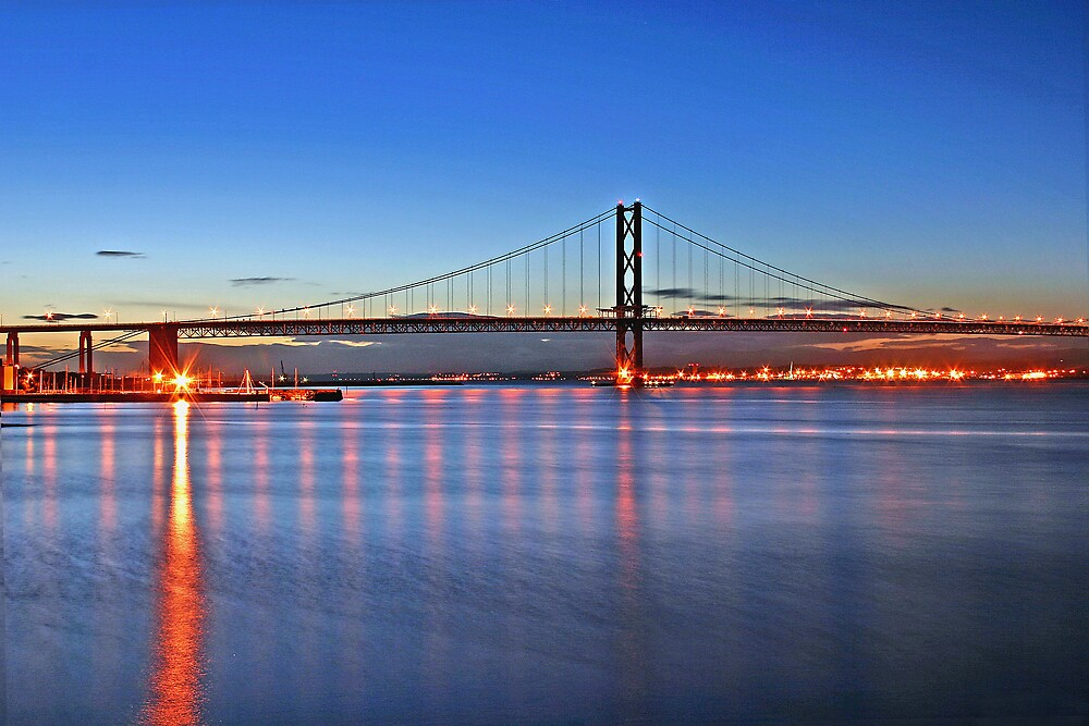 THE FORTH ROAD BRIDGE by Chris Clark