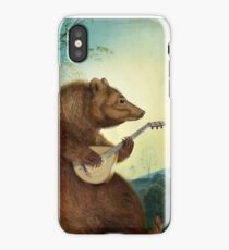 Mandolin Bear iPhone Case