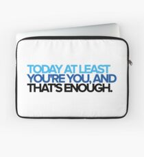 Dear Evan Hansen - You're You Laptop Sleeve