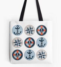 Nautical Adventures: Icons Tote Bag