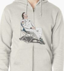 Alonso's Nap (colors) Zipped Hoodie