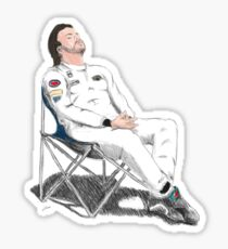 Alonso's Nap (colors) Sticker