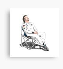 Alonso's Nap (colors) Canvas Print