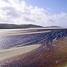 Sandbänke auf einem Hebridean Beach von BlueMoonRose