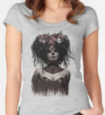 La Catrina Fitted Scoop T-Shirt