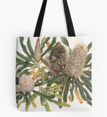 Banksia serrata Tote Bag