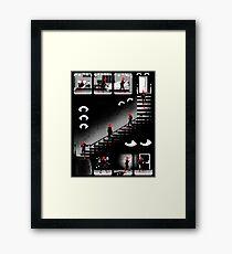 Haunted House Framed Print