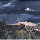 storm,country road by victor