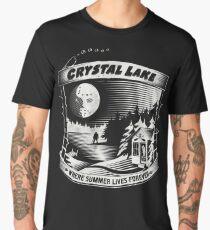 Camp Crystal Lake: Where Summer Lives Forever Men's Premium T-Shirt