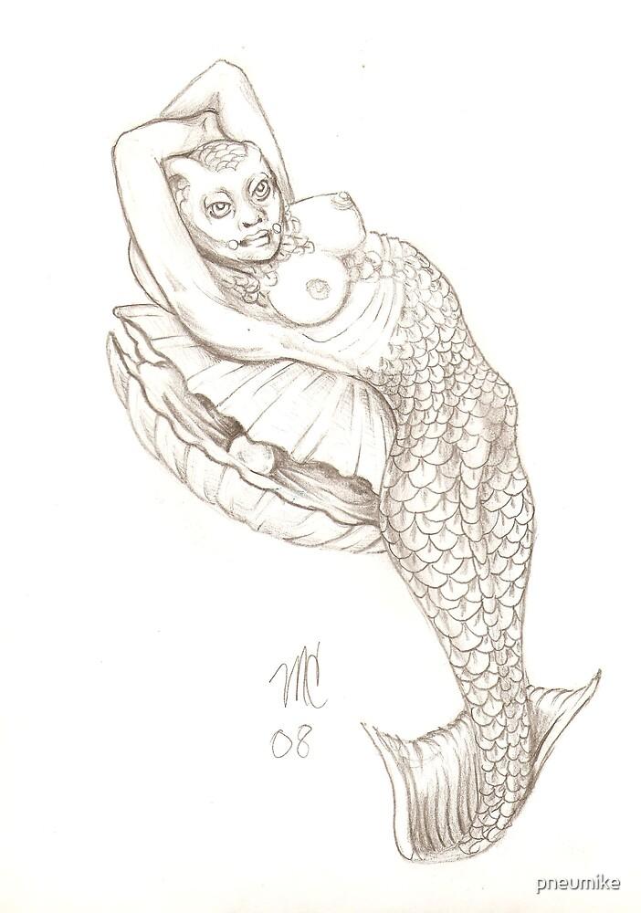 mermaid by pneumike