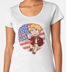 Axis Powers Hetalia: America Women's Premium T-Shirt