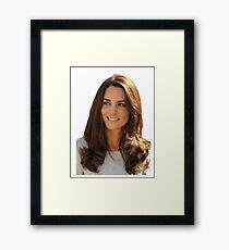 Kate Middleton Gerahmtes Wandbild