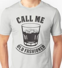 Old Fashioned Whiskey Drink Whisky Rocks Fan Bourbon T-Shirt Unisex T-Shirt