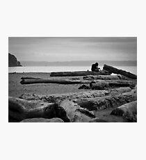 Monochromatic Contemplation Photographic Print