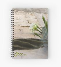 Princess of the Night - Blooming against Urban Wall Spiral Notebook