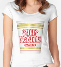 Cup Noodle Women's Fitted Scoop T-Shirt
