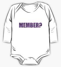 Member Berries - Member? One Piece - Long Sleeve