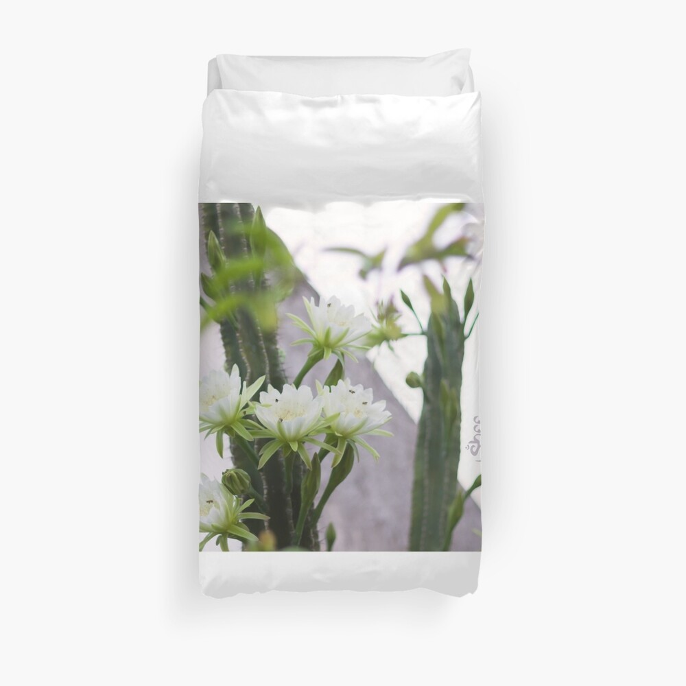 Princess of the Night - Blooming in Abundance Duvet Cover