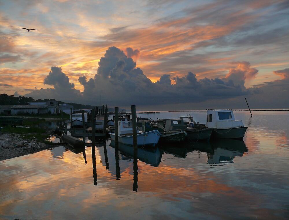 Eastpoint At Dawn by Charlie Sawyer