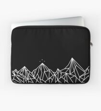 NIGHT COURT MOUNTAINS  Laptop Sleeve