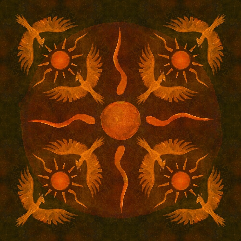 Phoenix Sun by Amaruuk