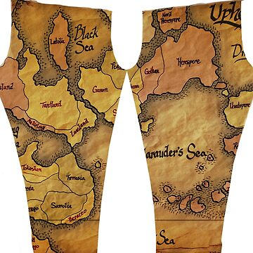 Uphelios Map Tights by tarorae