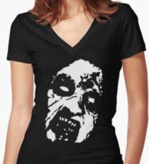 Evil Dead Cheryl Women's Fitted V-Neck T-Shirt
