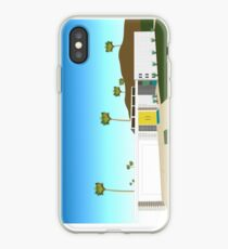 Mid Century Modern House iPhone Case