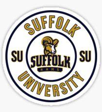 SUFFOLK UNIVERSITY Sticker